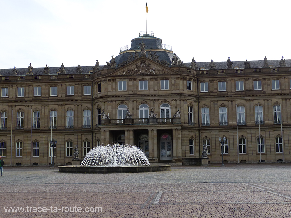 Palais de Stuttgart - Allemagne Deutschland Germany