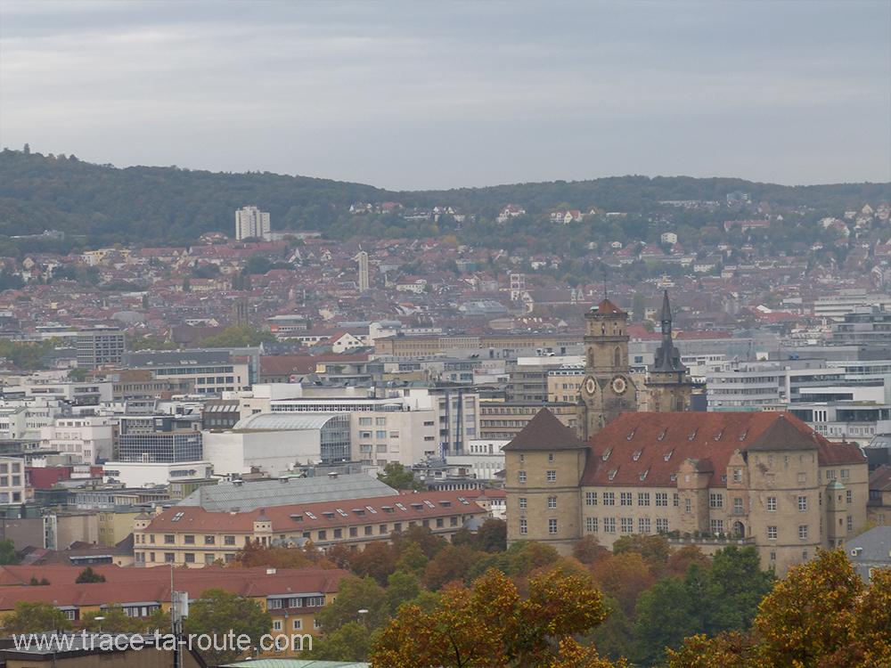 Panorama sur Stuttgart - Allemagne Deutschland Germany