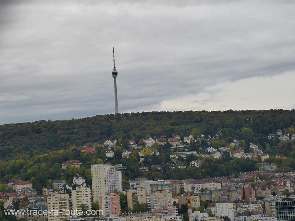 Panorama sur la tour Stuttgart - Allemagne Deutschland Germany