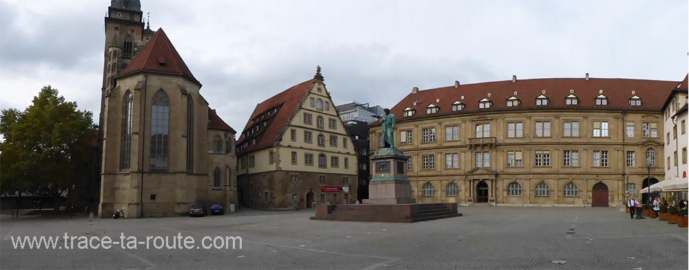 Schillerplatz Stuttgart - Allemagne Deutschland Germany
