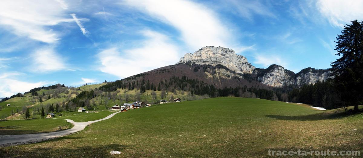 La Plagne, départ pour le Mont Granier (Chartreuse)