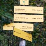 Départ randonnée depuis La Plagne (Chartreuse)