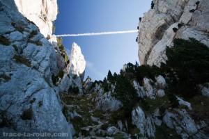 Cheminée du Mont Granier (Chartreuse)
