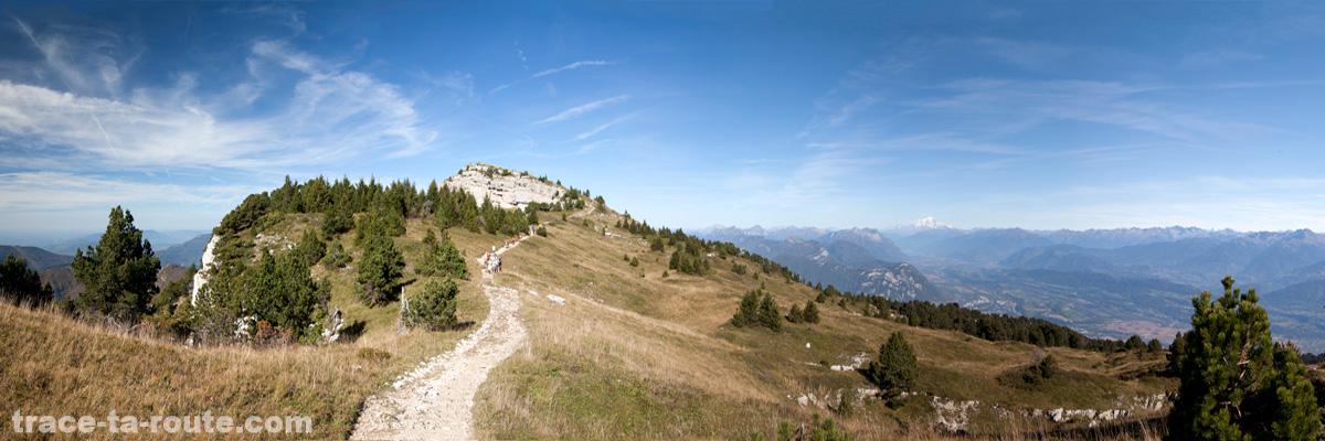 Sur le Plateau du Mont Granier (Chartreuse)