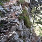 Le Pas des Barres au Mont Granier (Chartreuse)