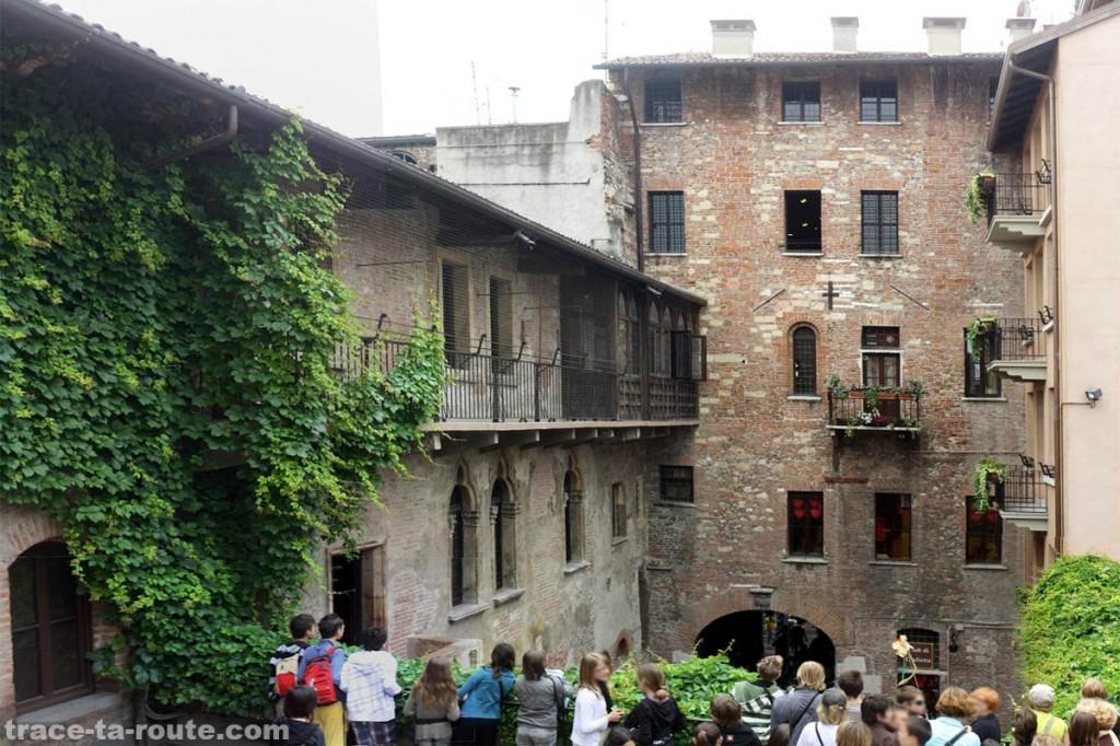 La MAISON de JULIETTE (Casa di Giuletta) à VÉRONE