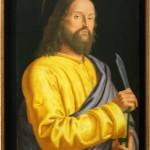 """""""Saint Barthélémy"""" (fin XVe / début XVIe siècle) Francesco MORONE au Castelvecchio de Vérone"""