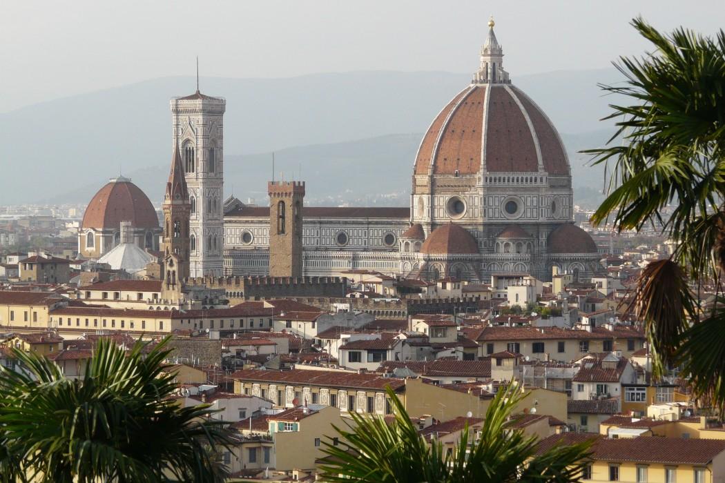 vue de florence en italie blog voyage trace ta route