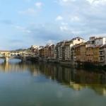 Le ponte Vecchio à Florence