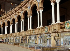 azulejos plaza de Espana - Seville