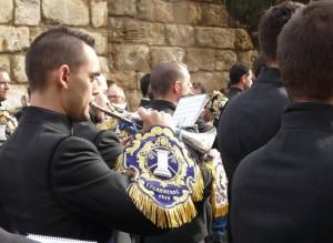 Bandas (fanfare) à Seville