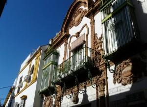 facade typique andalousie