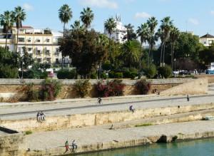 guadalquivir depuis triana - Seville
