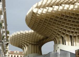 las setas à Seville - Trace ta route