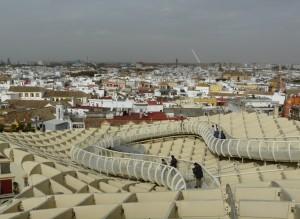 vue depuis las setas - Seville