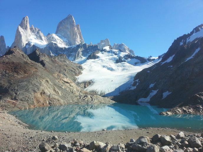 laguna de los tres mont et glacier fitz roy patagonie