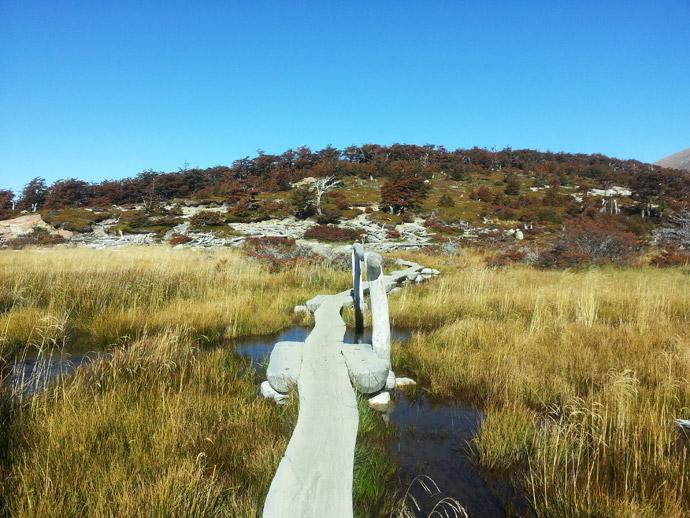 pont randonnée fitz roy patagonie