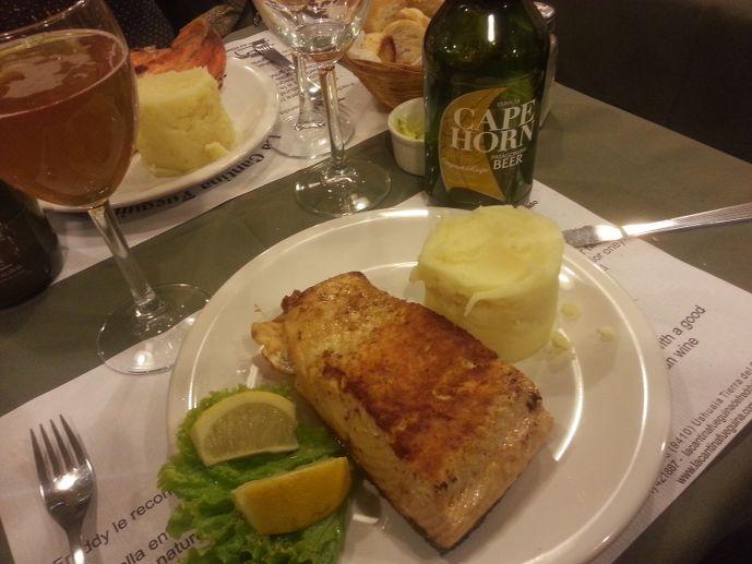 saumon fueguina de freddy ushuaïa blog voyage