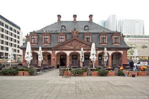 Le Café Haupwache à Francfort