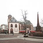 Liebfrauenkirche, l'Église Notre-Dame sur la place Liebfrauenberg de Francfort