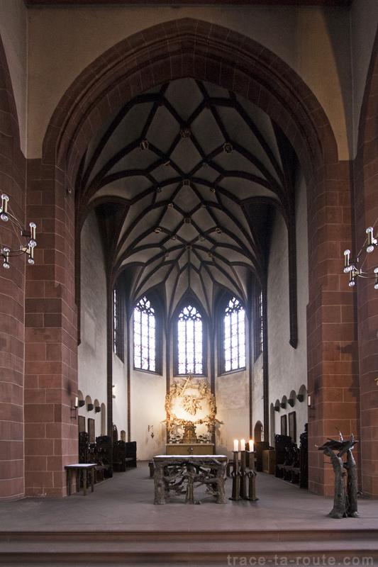 Choeur de Liebfrauenkirche, l'Église Notre-Dame de Francfort