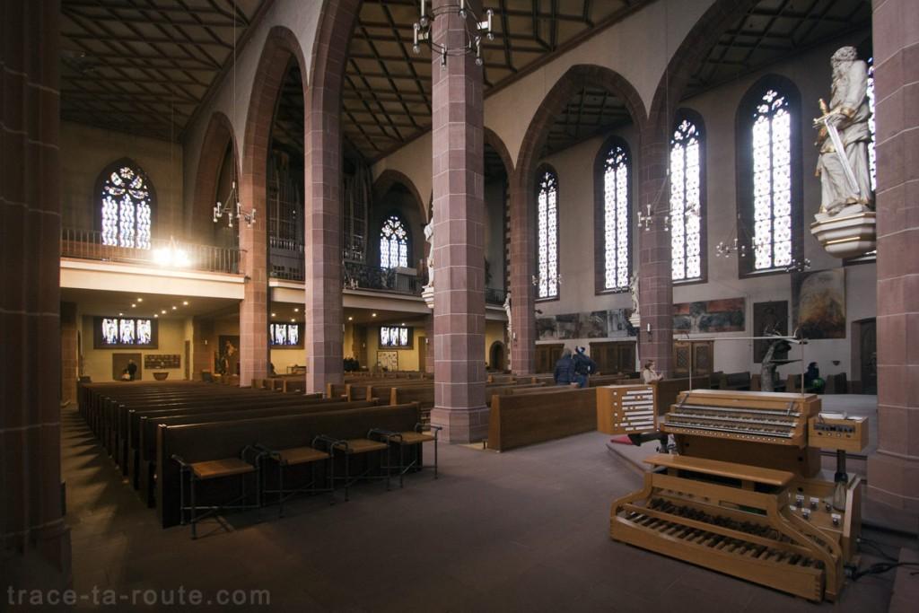 Nef de Liebfrauenkirche, l'Église Notre-Dame de Francfort