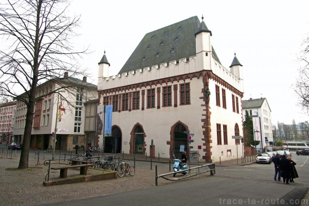 Leinwandhaus, la maison de la toile à Francfort