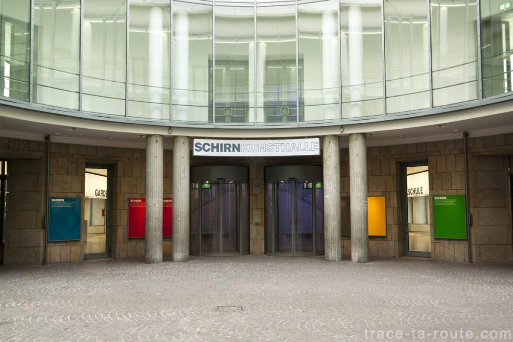 La Schirn Kunsthalle de Francfort - édouard photographie © Trace Ta Route