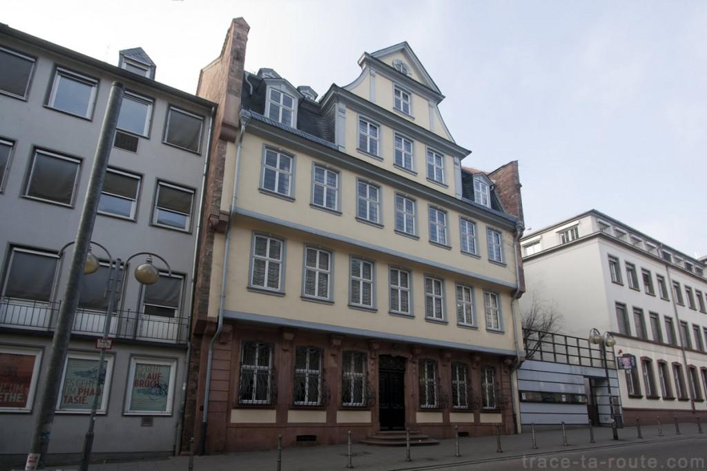 Goethehaus, la Maison de Goethe à Francfort