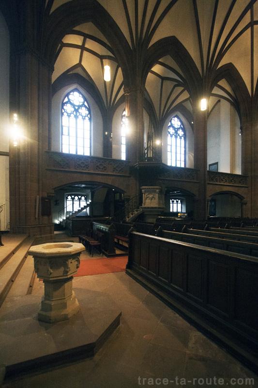 Dreikönigskirche, Église de l'Épiphanie de Francfort