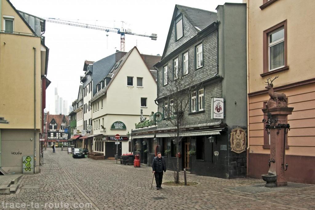 Bars de Große Rittergasse, Francfort
