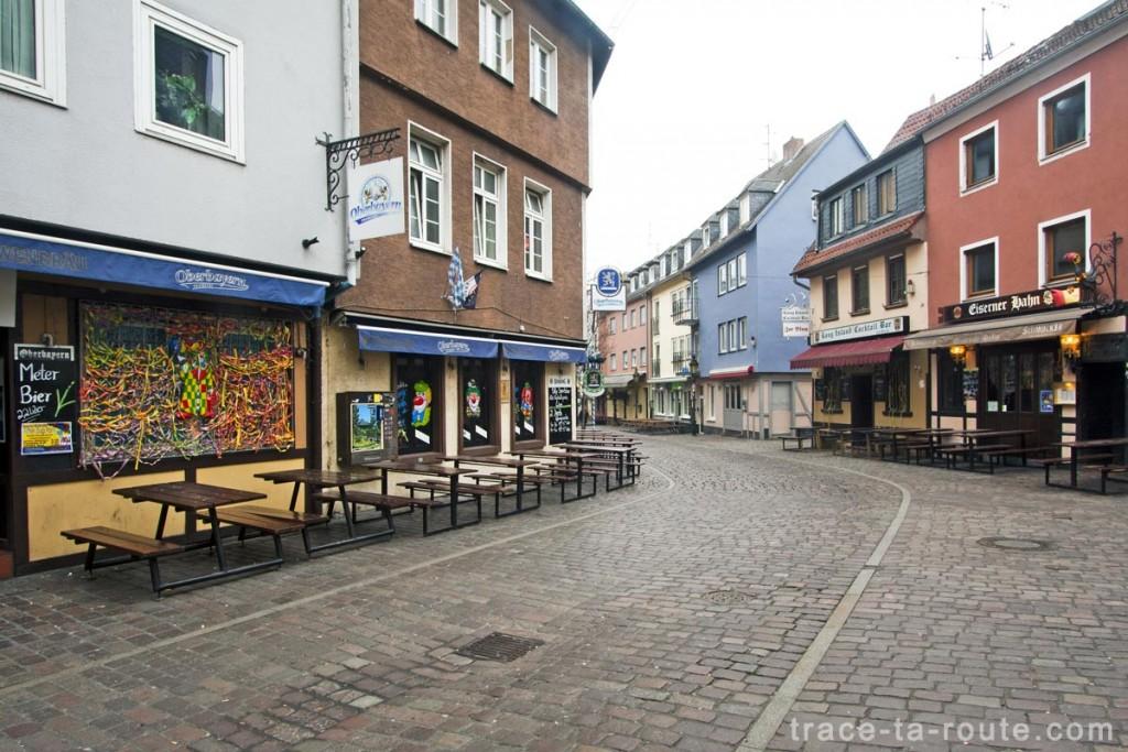 Bars de Kleine Rittergasse, Francfort