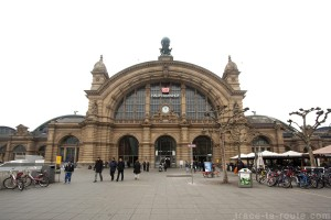 Hauptbahnhof, la gare de Francfort
