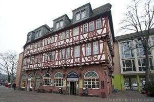 La brasserie Haus Wertheym à Francfort