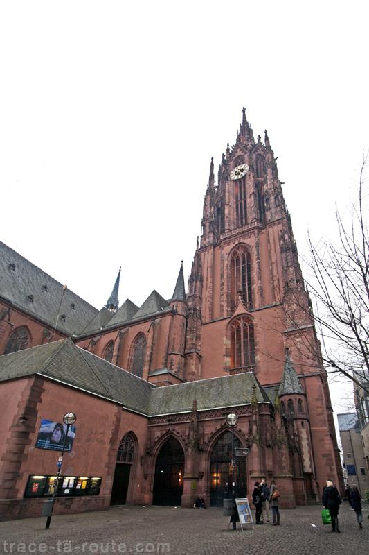 La Cathédrale Saint-Barthélémy de Francfort (Kaiserdom St. Bartholomäus Frankfurt)