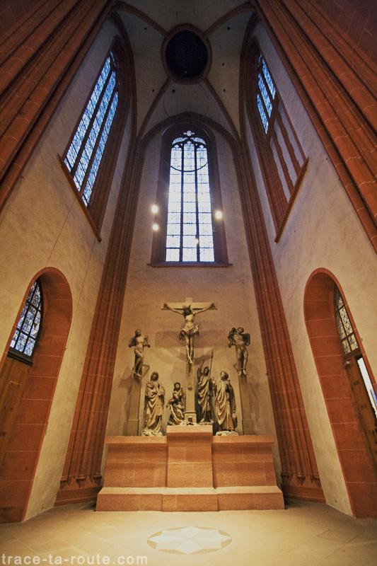 Narthex de la Cathédrale Saint-Barthélémy de Francfort (Kaiserdom St. Bartholomäus Frankfurt)