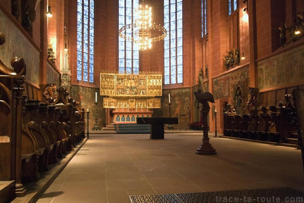 Le Choeur de la Cathédrale Saint-Barthélémy de Francfort (Kaiserdom St. Bartholomäus Frankfurt)