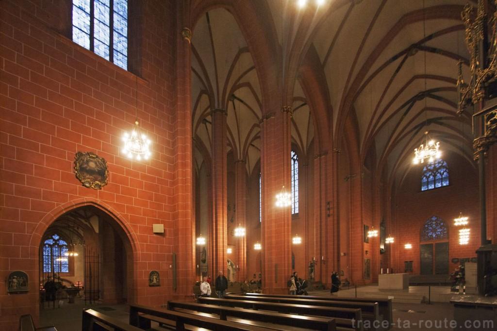 Transept de la Cathédrale Saint-Barthélémy de Francfort (Kaiserdom St. Bartholomäus Frankfurt)