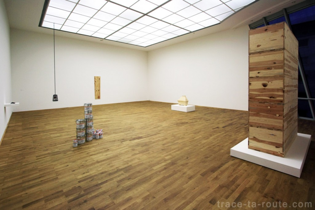 Salle Andreas SLOMINSKI, Musée d'Art Moderne de Francfort