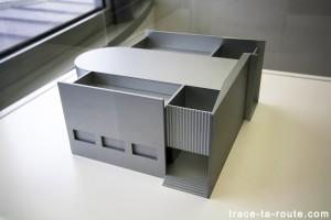 """""""Scale model for building in a public garden"""" (2009) Liam GILLICK, Musée d'Art Moderne de Francfort"""