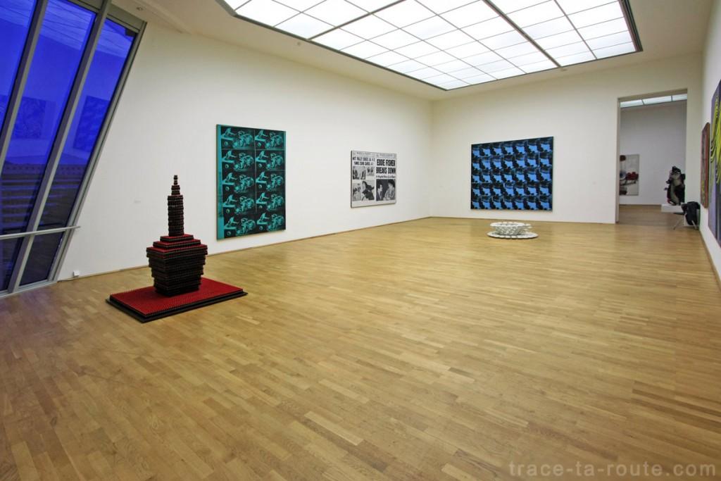 Salle Pop Art du Musée d'Art Moderne de Francfort