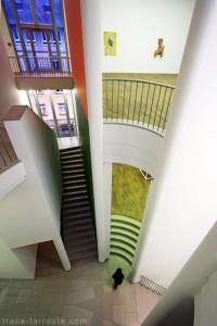 Architecture du Musée d'Art Moderne de Francfort