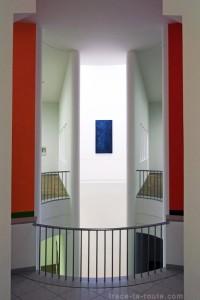 Architecture du Musée d'Art Moderne de Francfort - édouard photographie © Trace Ta Route