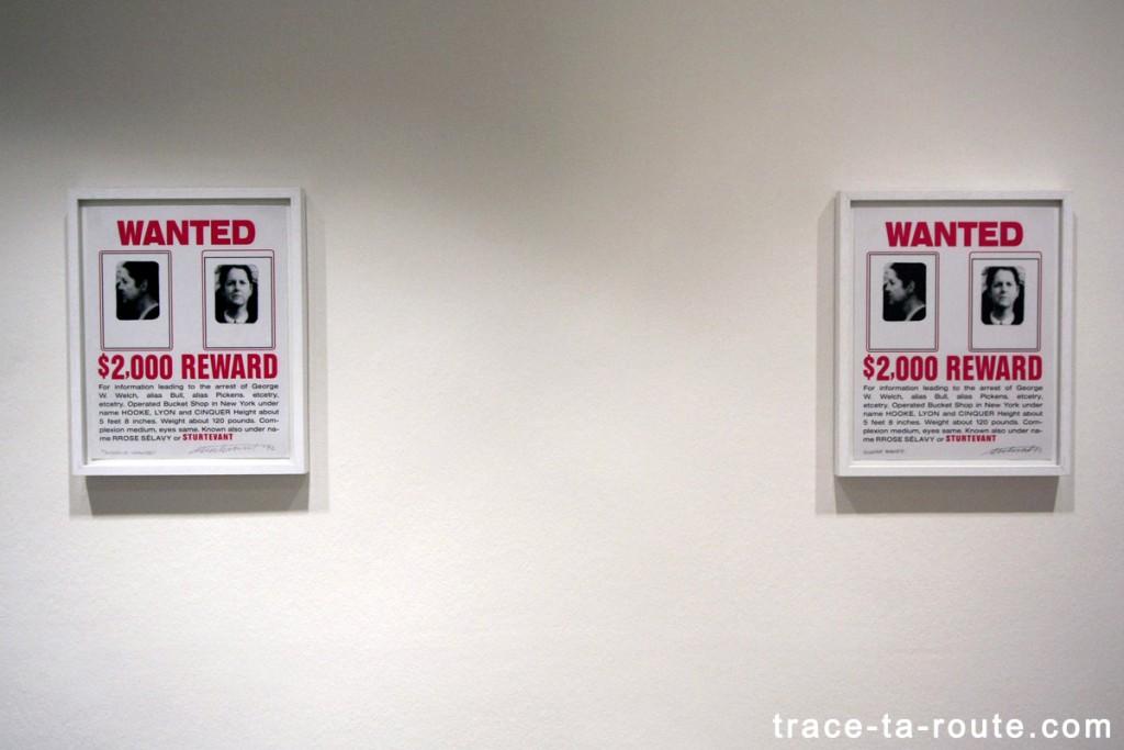 """""""Duchamp Wanted"""" (1992) STURTEVANT, Musée d'Art Moderne de Francfort"""