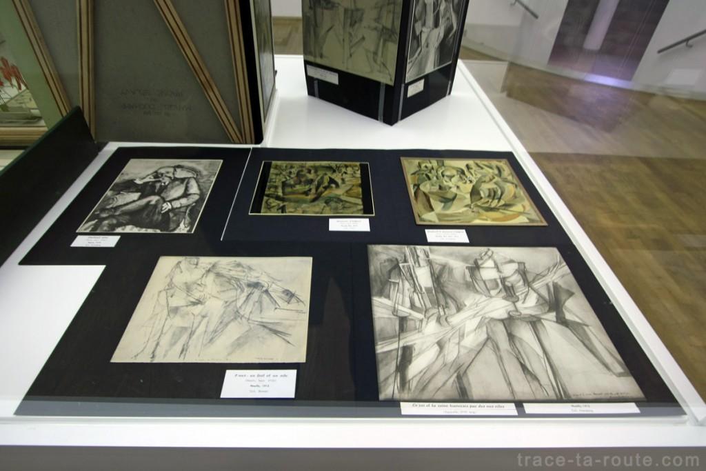 """""""Boite-en-valise"""" (1963) (détail) Marcel DUCHAMP, Musée d'Art Moderne de Francfort"""