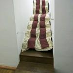 """Bacon/Carpet"" (1991) Claes OLDENBURG, Musée d'Art Moderne de Francfort"
