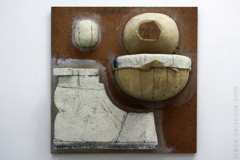 """Sketch for Toilet Base"" (1966) Claes OLDENBURG, Musée d'Art Moderne de Francfort"