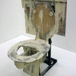 """""""Hard Toilet"""" (1966) Claes OLDENBURG, Musée d'Art Moderne de Francfort"""