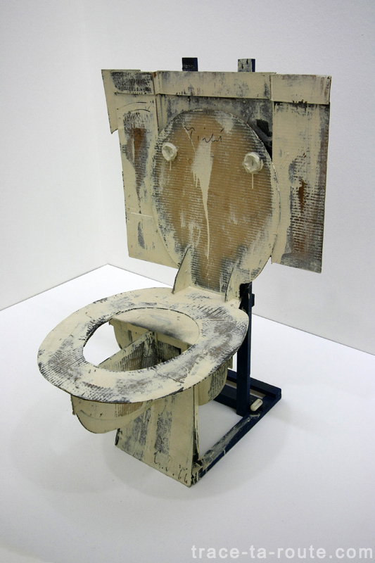 """Hard Toilet"" (1966) Claes OLDENBURG, Musée d'Art Moderne de Francfort"