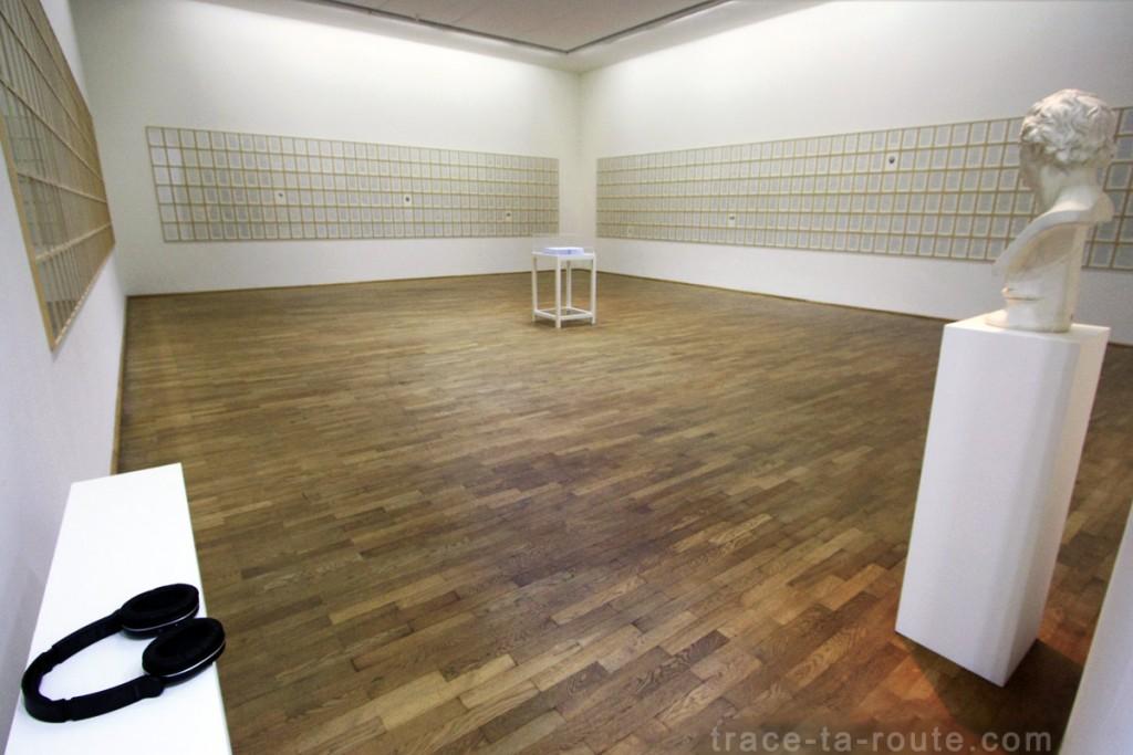 Salle Hanne DARBOVEN, Musée d'Art Moderne de Francfort